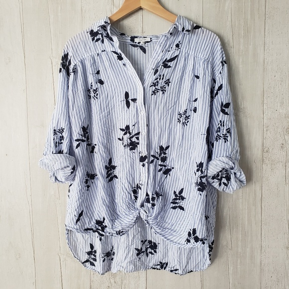 Maurices Tops - Maurices Plus Size 1 Button Front Blouse